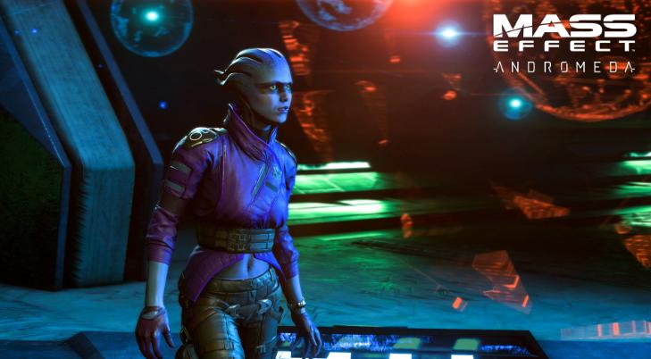 Mass Effect Andromeda игра