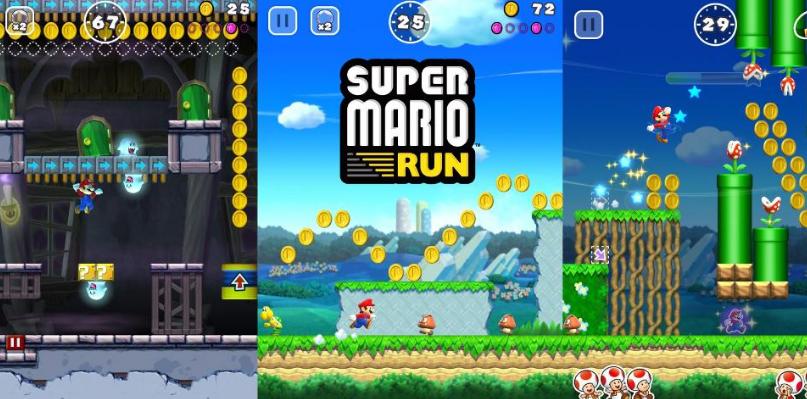 Реализация игры Super Mario Run не оправдала надежд Nintendo